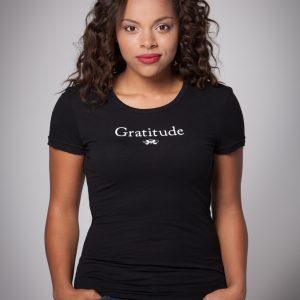 Women's Gratitude Cap Sleeve Tee