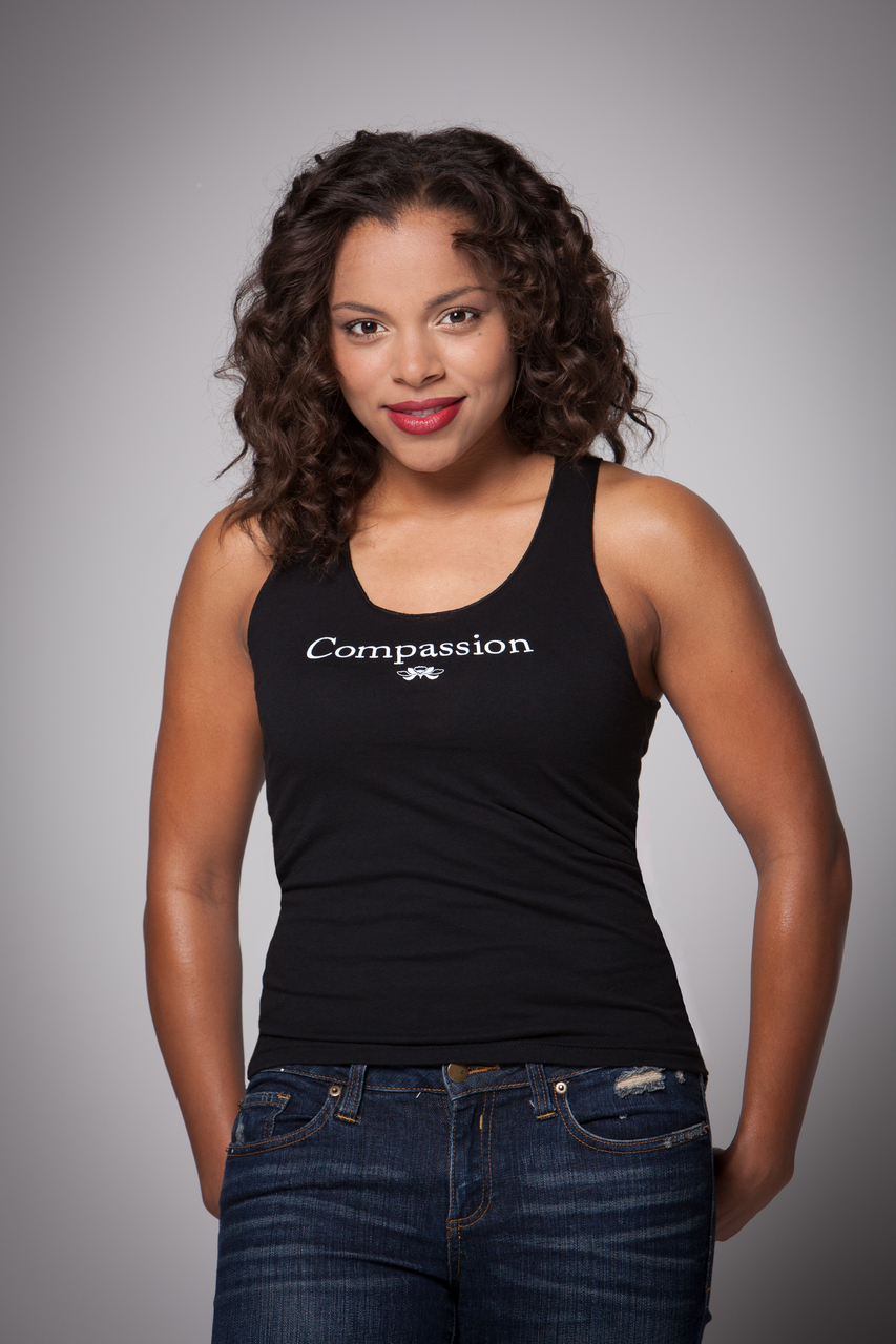Women's Compassion Racer Back Tank Top