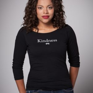 Women's Kindness Boat Neck Shirt