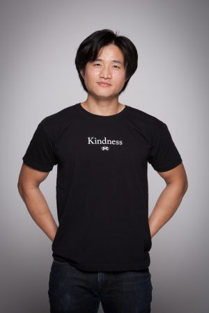 Man wearing Kindness Short Sleeve Tee