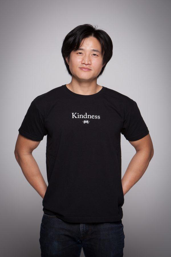 Man wearing Kindness Short Sleeve Tee