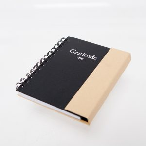 Gratitude Notebook closed